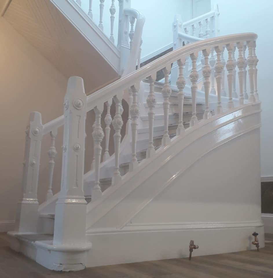 Domestic spiral staircase by Alexander Decorators