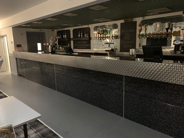 refurbished bar